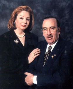 Frank and Gloria Rita Devlyn